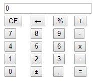 Aperçu calculatrice